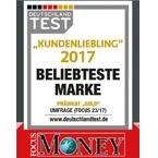 lasik germany® holt auch 2017 Gold und ist damit die beliebteste Mark